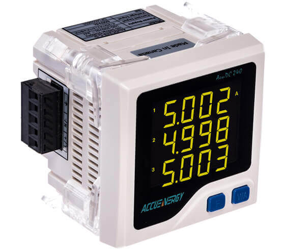 Economy Multifunction Power And Energy Meters