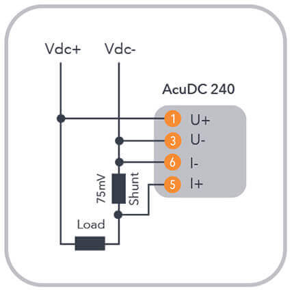 acudc 240 power  energy meter installation guide  accuenergy