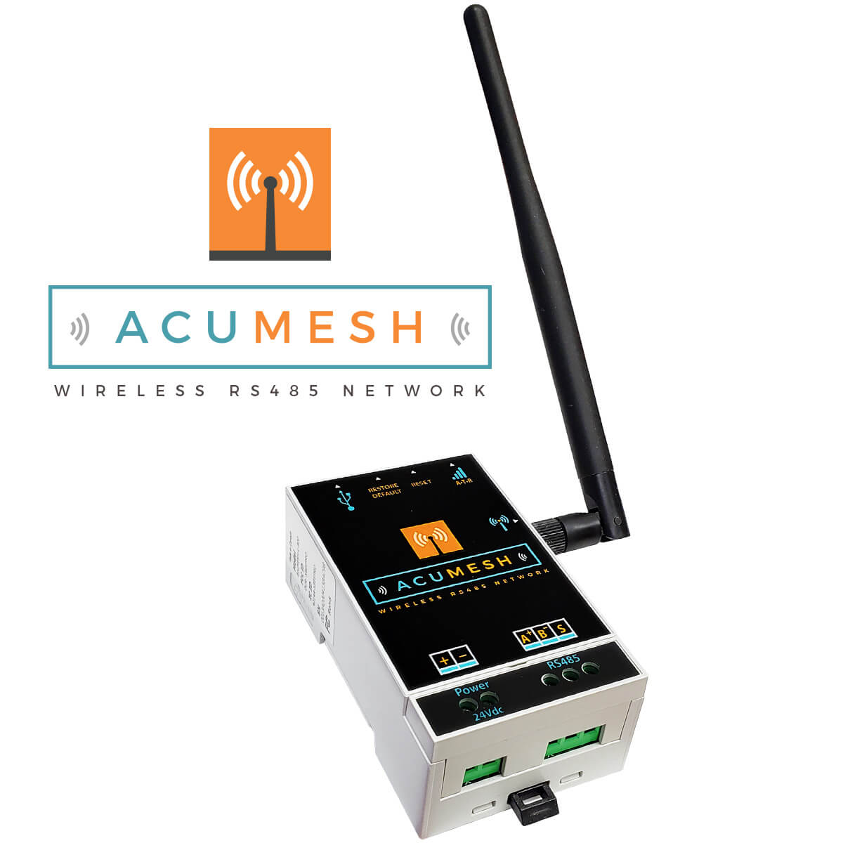 Wireless Rs485 Transciever Acumesh Wireless Rs485 Network Accuenergy