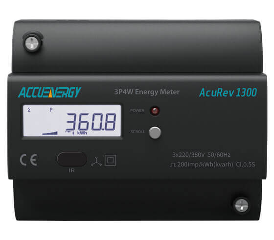 DIN Rail Power and Energy Meter