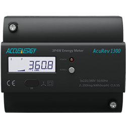 AcuRev 1310 - DIN-Rail meter for Cost-Effective Power and Energy Metering