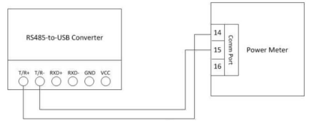 troubleshoot serial connection with usbrs485 converter