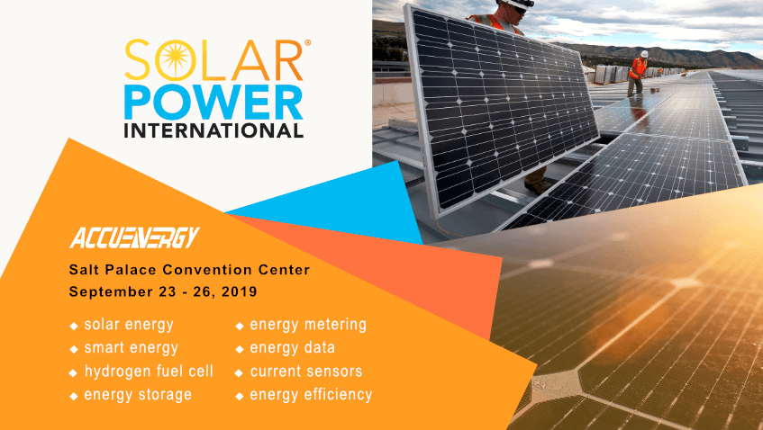 Solar Power International – SPI 2019 | Accuenergy